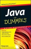 Java For Dummies Quick Reference (eBook, PDF)