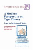 A Modern Perspective on Type Theory (eBook, PDF)