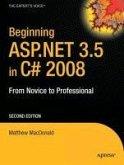 Beginning ASP.NET 3.5 in C# 2008 (eBook, PDF)