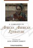 A Companion to African American Literature (eBook, PDF)