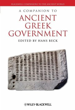 A Companion to Ancient Greek Government (eBook, PDF)