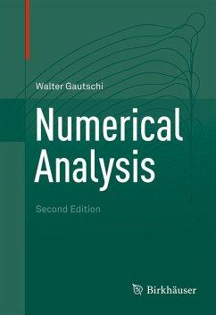 Numerical Analysis (eBook, PDF) - Gautschi, Walter