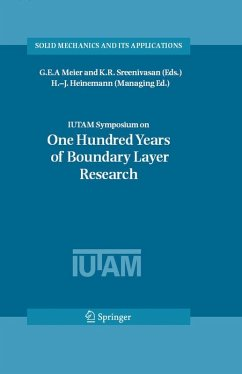 IUTAM Symposium on One Hundred Years of Boundary Layer Research (eBook, PDF)