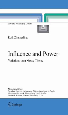 Influence and Power (eBook, PDF) - Zimmerling, Ruth