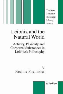 Leibniz and the Natural World (eBook, PDF) - Phemister, Pauline