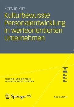 Kulturbewusste Personalentwicklung in werteorientierten Unternehmen (eBook, PDF) - Ritz, Kerstin