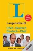 Langenscheidt Chef-Deutsch/Deutsch-Chef (eBook, ePUB)