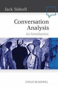Conversation Analysis (eBook, PDF) - Sidnell, Jack