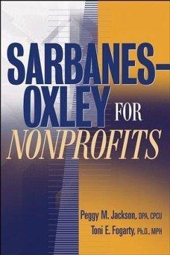 Sarbanes-Oxley for Nonprofits (eBook, PDF) - Jackson, Peggy M.; Fogarty, Toni E.