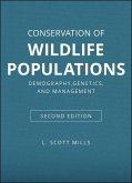 Conservation of Wildlife Populations (eBook, ePUB)