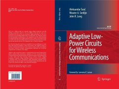 Adaptive Low-Power Circuits for Wireless Communications (eBook, PDF) - Tasic, Aleksandar; Serdijn, Wouter A.; Long, John R.