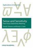 Sense and Sensitivity (eBook, PDF)