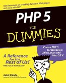 PHP 5 For Dummies (eBook, PDF)