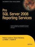 Pro SQL Server 2008 Reporting Services (eBook, PDF)