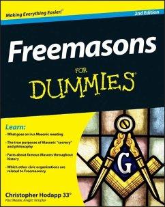 Freemasons For Dummies (eBook, PDF) - Hodapp, Christopher