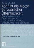 Konflikt als Motor europäischer Öffentlichkeit (eBook, PDF)