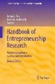 Handbook of Entrepreneurship Research (eBook, PDF)