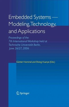 Embedded Systems -- Modeling, Technology, and Applications (eBook, PDF)