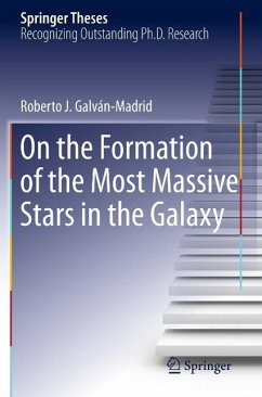 On the Formation of the Most Massive Stars in the Galaxy (eBook, PDF) - Galván-Madrid, Roberto J.