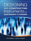 Designing and Constructing Instruments for Social Research and Evaluation (eBook, PDF)
