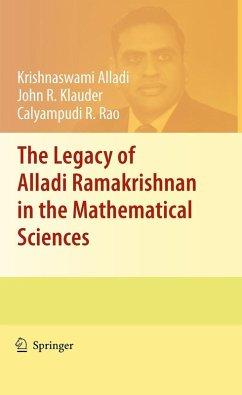 The Legacy of Alladi Ramakrishnan in the Mathematical Sciences (eBook, PDF)