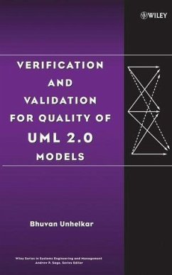 Verification and Validation for Quality of UML 2.0 Models (eBook, PDF) - Unhelkar, Bhuvan