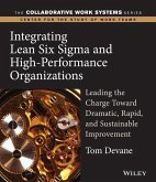 Integrating Lean Six Sigma and High-Performance Organizations (eBook, PDF)