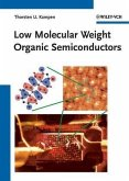 Low Molecular Weight Organic Semiconductors (eBook, PDF)