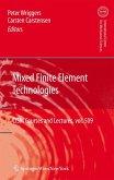 Mixed Finite Element Technologies (eBook, PDF)