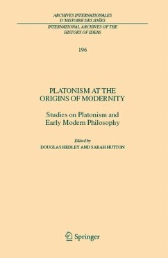 Platonism at the Origins of Modernity (eBook, PDF)