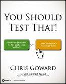 You Should Test That (eBook, PDF)