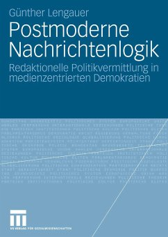 Postmoderne Nachrichtenlogik (eBook, PDF) - Lengauer, Günther