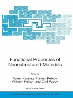 Functional Properties of Nanostructured Materials (eBook, PDF)
