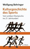 Kulturgeschichte des Sports (eBook, ePUB)