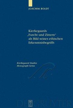 """Kierkegaards """"Furcht und Zittern"""" als Bild seines ethischen Erkenntnisbegriffs (eBook, PDF)"""