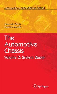 The Automotive Chassis (eBook, PDF) - Genta, Giancarlo; Morello, L.