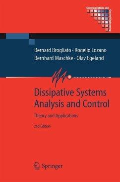 Dissipative Systems Analysis and Control (eBook, PDF) - Brogliato, Bernard; Maschke, Bernhard; Egeland, Olav; Lozano, Rogelio