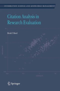 Citation Analysis in Research Evaluation (eBook, PDF) - Moed, Henk F.