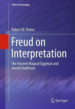 Freud on Interpretation (eBook, PDF) - Rieber, Robert W