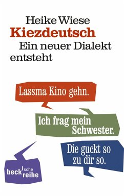 Kiezdeutsch (eBook, ePUB) - Wiese, Heike