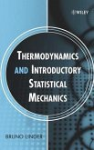 Thermodynamics and Introductory Statistical Mechanics (eBook, PDF)