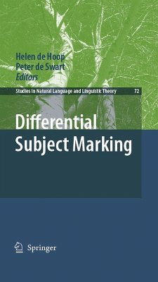 Differential Subject Marking (eBook, PDF)