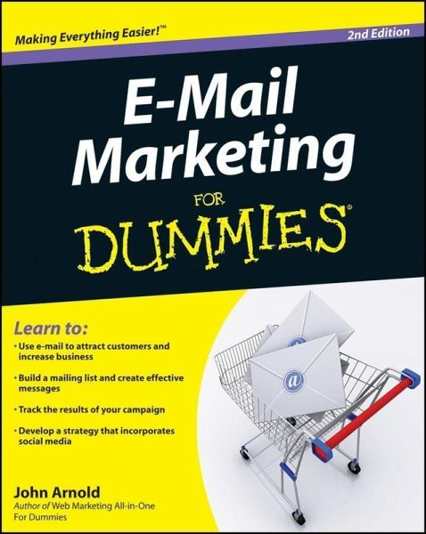 e mail marketing for dummies ebook pdf von john arnold. Black Bedroom Furniture Sets. Home Design Ideas