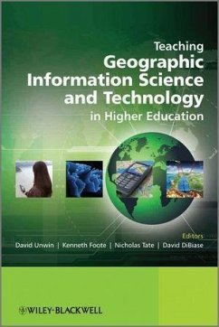 Teaching Geographic Information Science and Technology in Higher Education (eBook, ePUB)