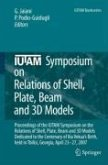 IUTAM Symposium on Relations of Shell, Plate, Beam and 3D Models (eBook, PDF)