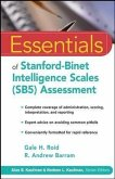 Essentials of Stanford-Binet Intelligence Scales (SB5) Assessment (eBook, PDF)