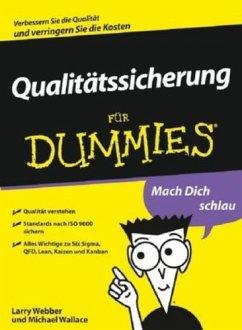 Qualitätssicherung für Dummies (eBook, ePUB)