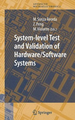 System-level Test and Validation of Hardware/Software Systems (eBook, PDF)