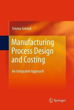 Manufacturing Process Design and Costing (eBook, PDF) - Grewal, Simmy