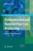 Environmental and Material Flow Cost Accounting (eBook, PDF) - Jasch, Christine M.